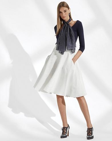 Madelyn Linen Skirt