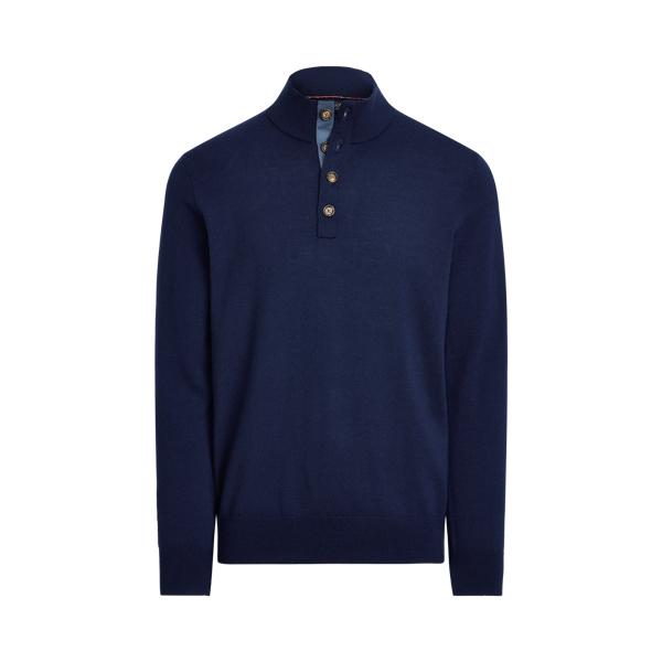 폴로 랄프로렌 남성 골프웨어 Polo Ralph Lauren Washable Merino Wool Sweater,French Navy