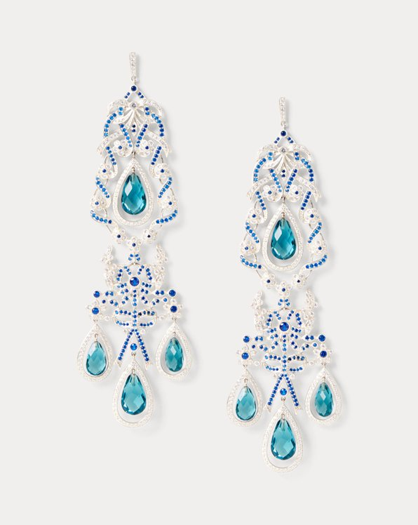 Sterling & Crystal Earrings