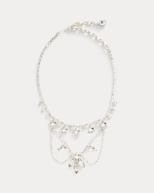 Crystal Wreath Necklace