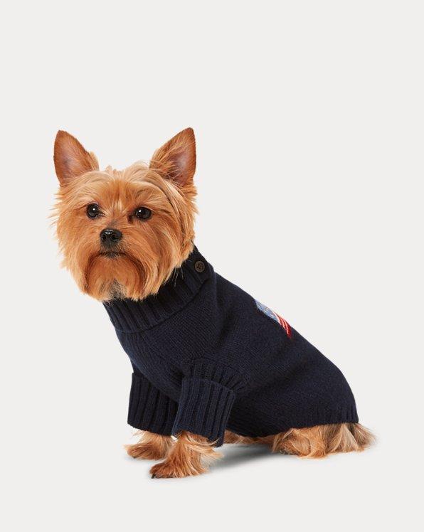 Cashmere-Blend Dog Sweater