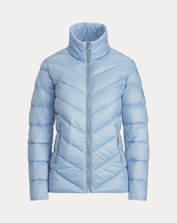 Packable Mockneck Coat