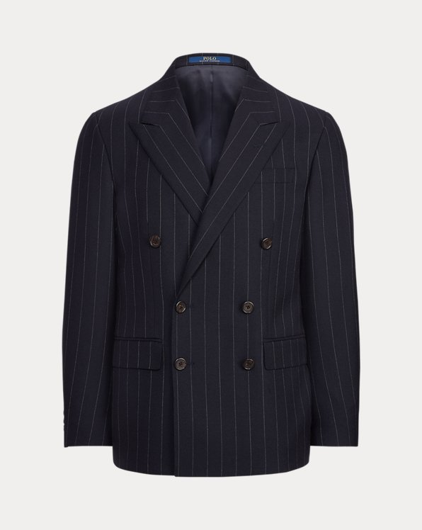 Polo Striped Wool Sport Coat