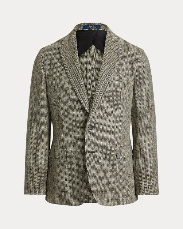 Polo Soft Herringbone Sport Coat