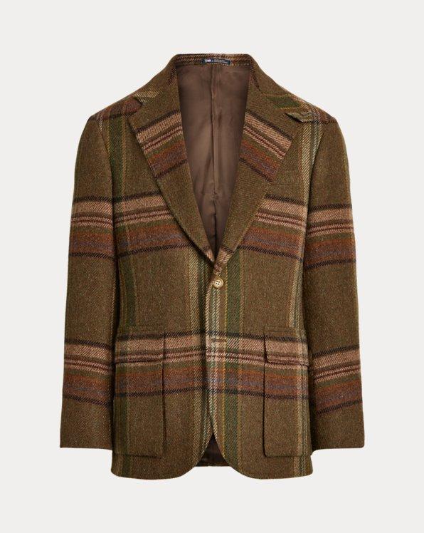The RL67 Blanket Plaid Jacket