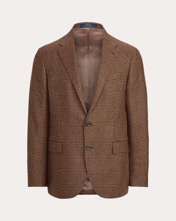 Polo Plaid Wool Sport Coat