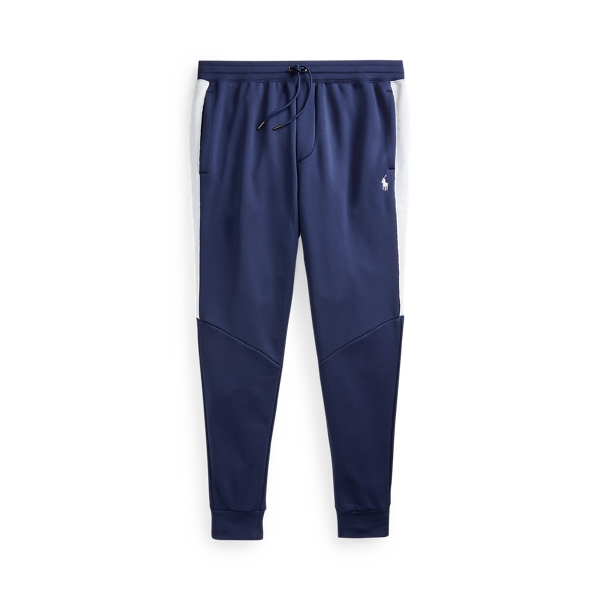 Ralph Lauren Performance Terry Track Pant In Blue