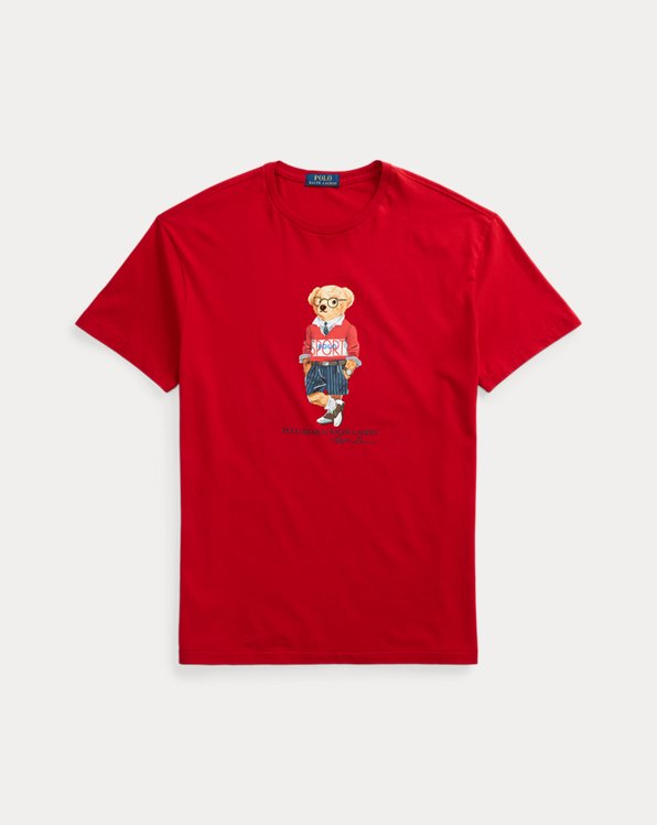 Custom Slim Polo Bear T-Shirt