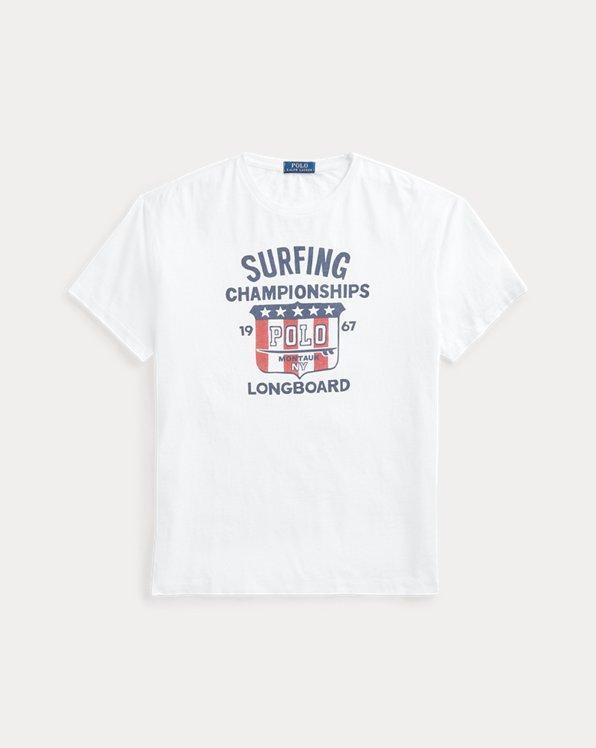 T-shirt graphique ajusté