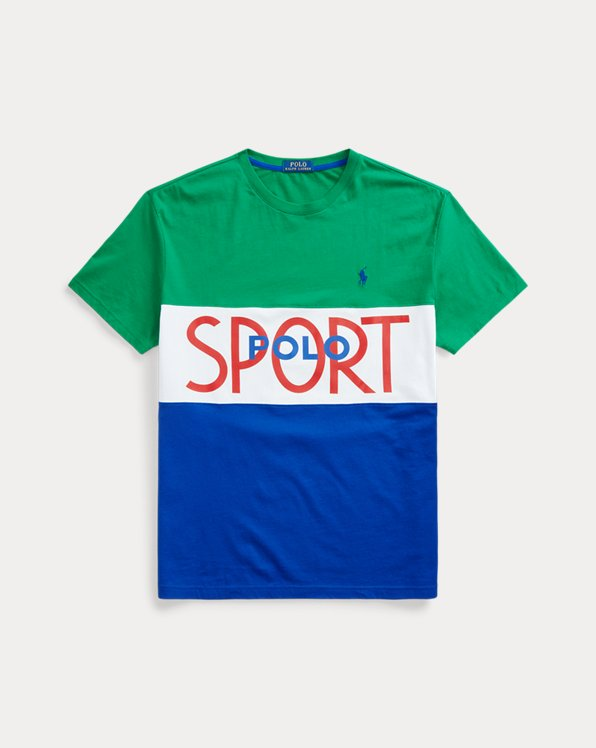 Custom-Slim-Fit T-Shirt Polo Sport