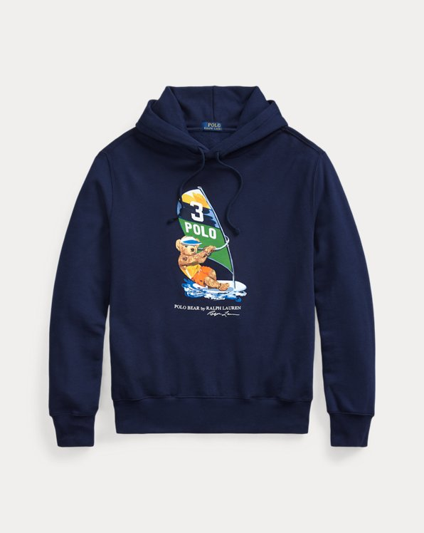 Windsurf Bear Fleece Hoodie