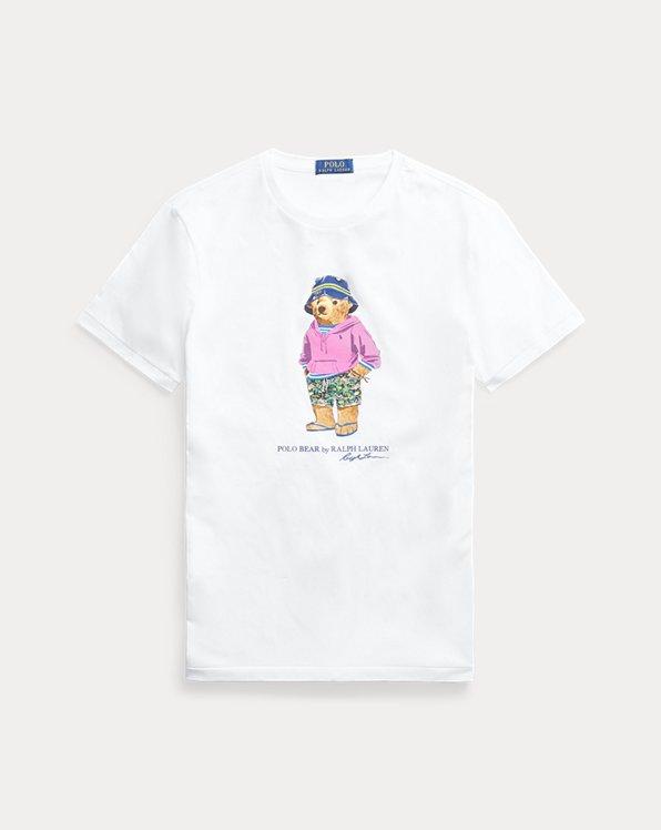 Maglietta Beach Bear Custom Slim