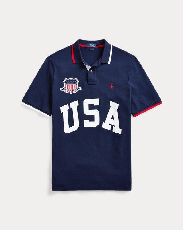 Custom-Slim-Fit Polo USA