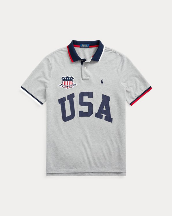 The Custom Slim Fit USA Polo