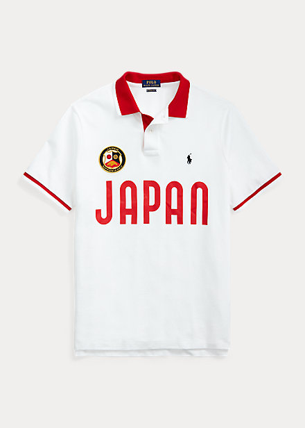 Polo Ralph Lauren The Custom Slim Fit Japan Polo Shirt