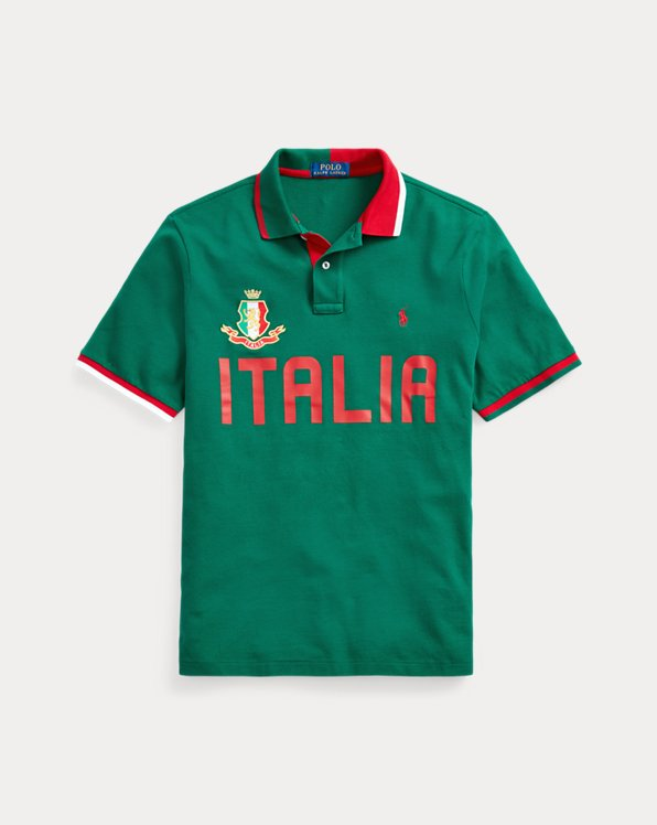 Custom-Slim-Fit Polo Italy