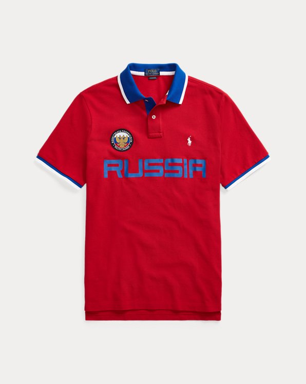 Polo Russia Custom Slim-Fit