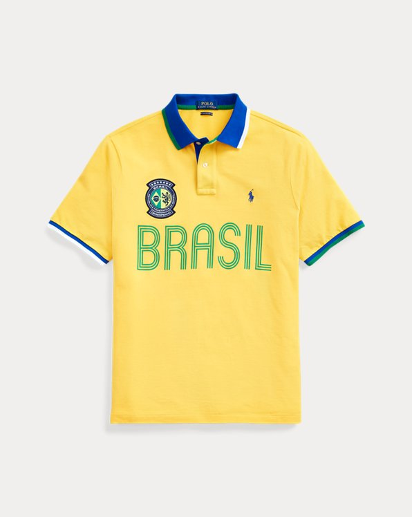 The Custom Slim Brazil Polo