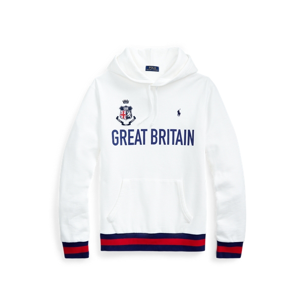폴로 랄프로렌 Polo Ralph Lauren The Great Britain Hoodie,White
