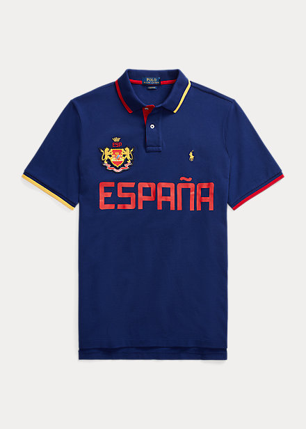 Polo Ralph Lauren The Custom Slim Fit Spain Polo Shirt