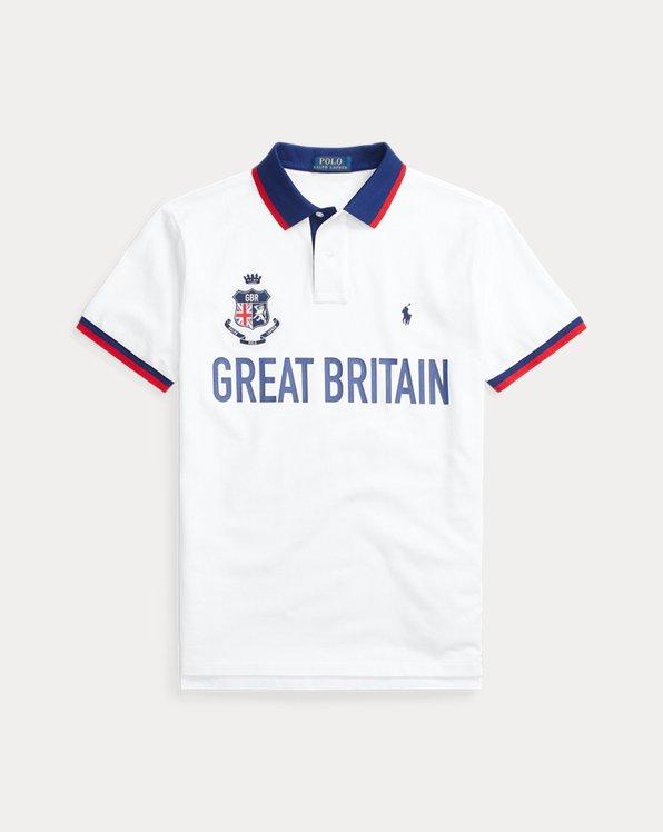 The Custom Slim Fit Britain Polo Shirt