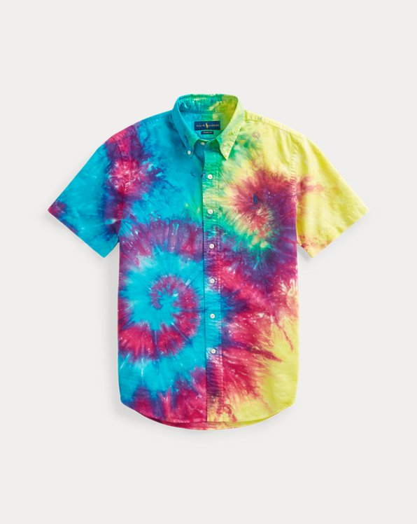 Camicia tie-dye Custom-Fit