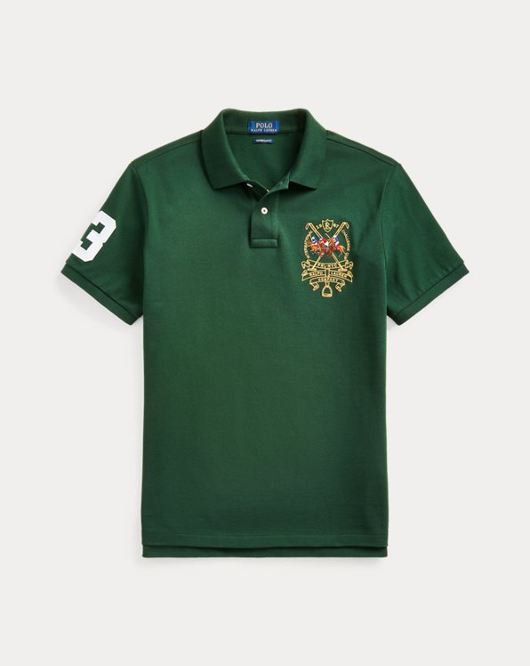 Custom Slim Triple-Pony Polo