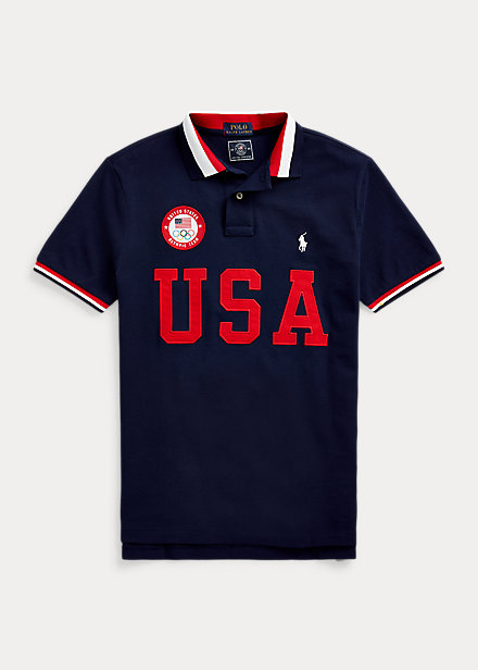 Polo Ralph Lauren Team USA One-Year-Out Polo Shirt