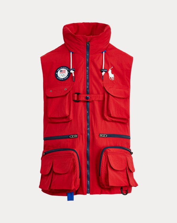 Team USA Water-Repellent Vest