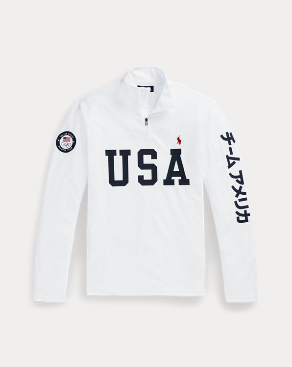 Team USA One-Year-Out Mesh Pullover