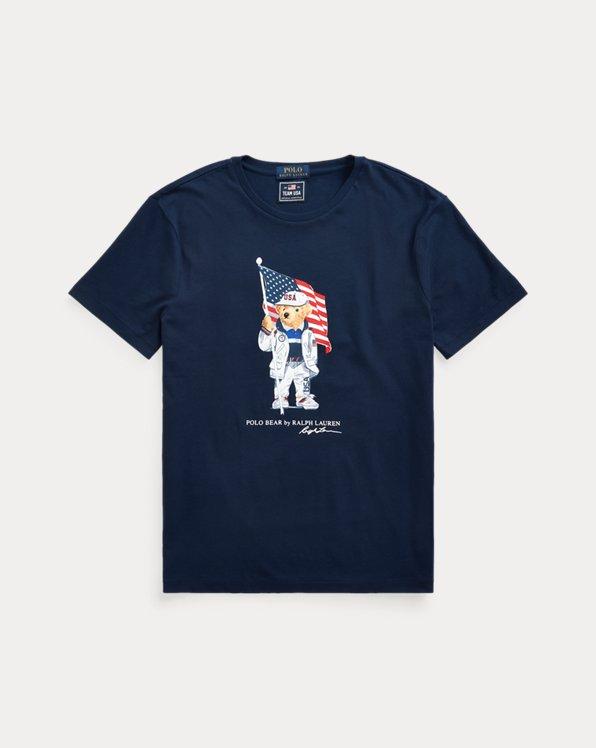 ECOFAST Pure Team USA Polo Bear T-Shirt