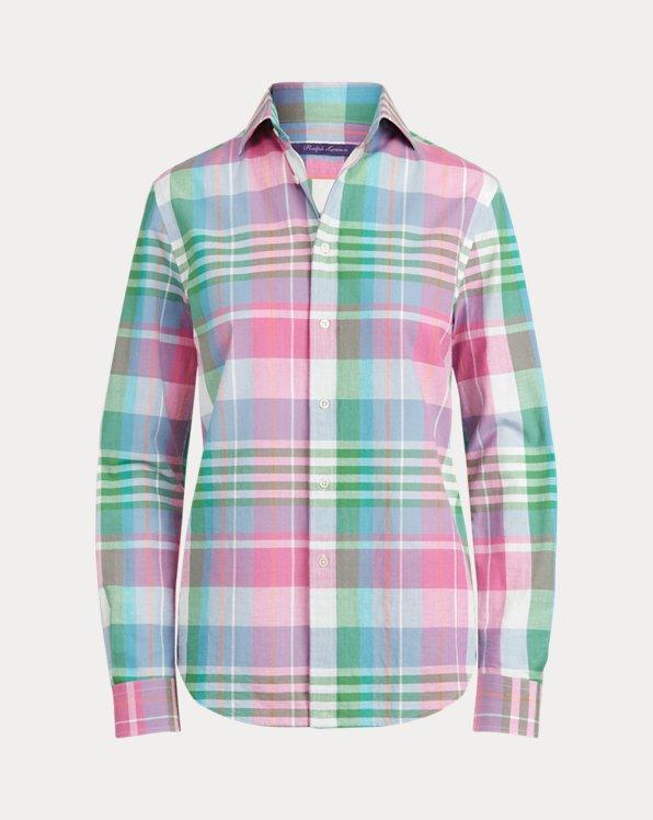 Camicia Hannah in madras di cotone