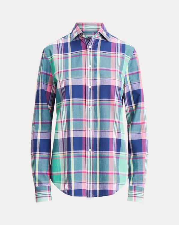 Hannah Cotton Madras Shirt