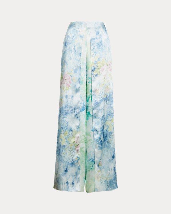Pantaloni da sera Kellin a fiori