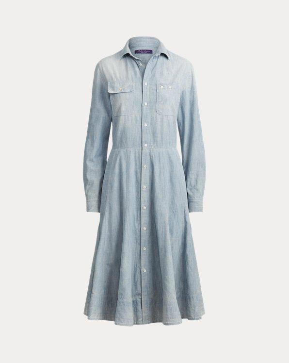 Cailyn Chambray Shirtdress