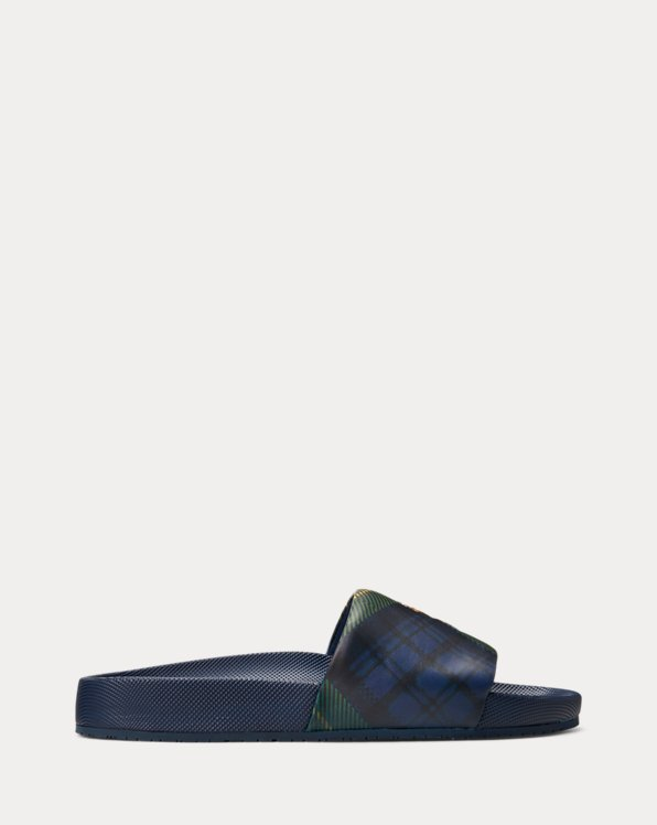 Cayson Tartan Slide Sandal