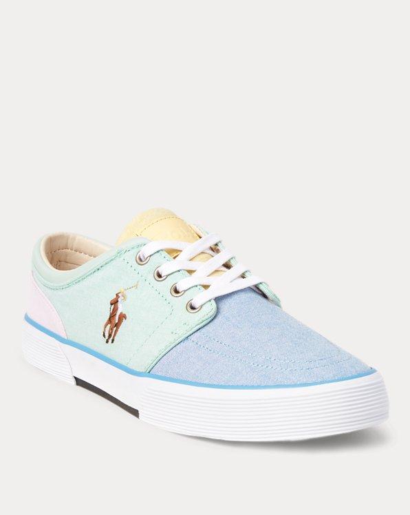 Faxon Cotton Oxford Sneaker