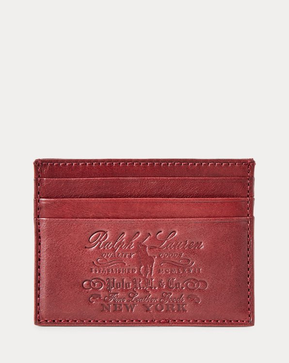 Heritage Leather Card Case