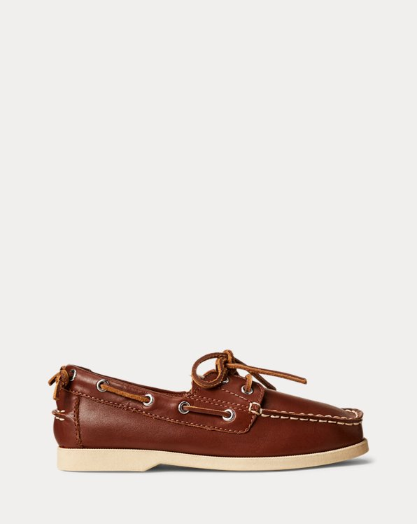 Merton Leather Boat Shoe