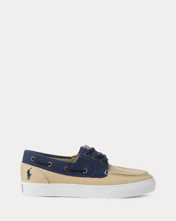 Bridgeport Cotton Boat Shoe