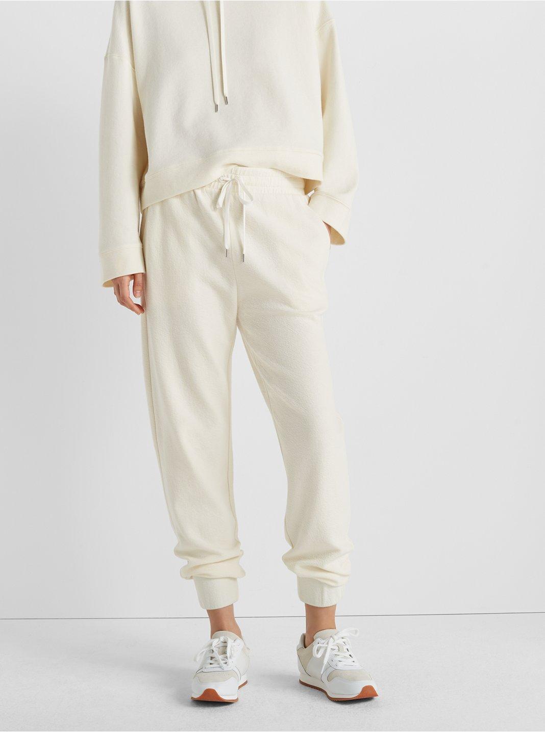 Crinkle Ottoman Pants