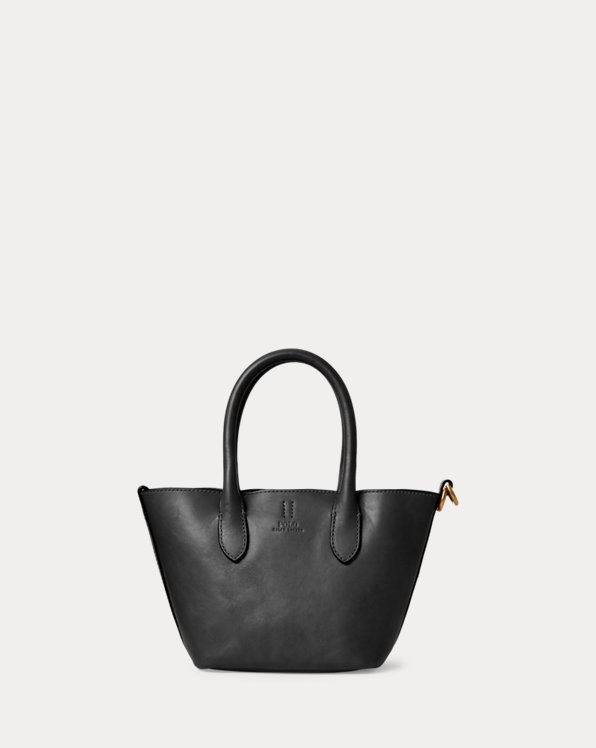 Leather Mini Bellport Tote
