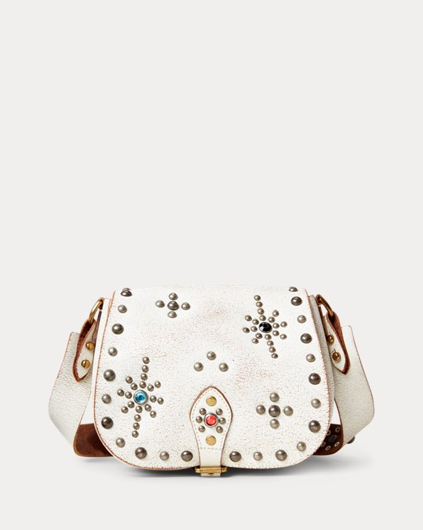 Studded Leather Small Crossbody
