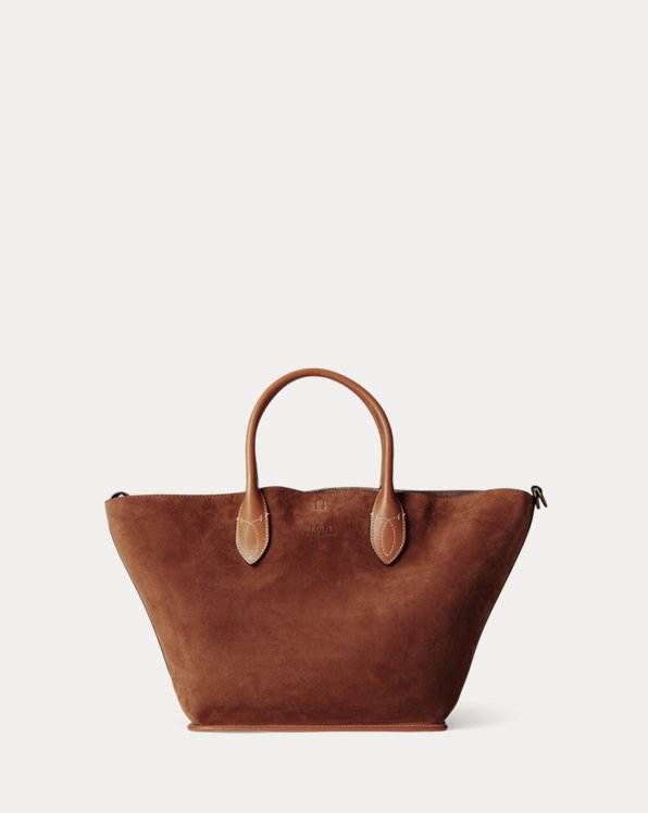 Suede Medium Bellport Tote