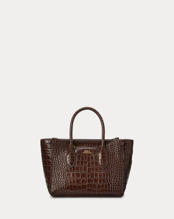 Embossed Mini Sloane Satchel