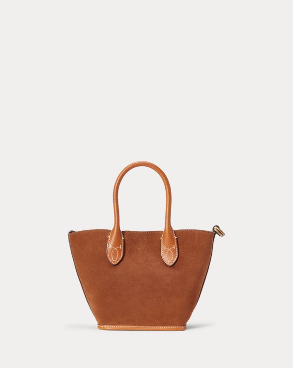 Suede Mini Bellport Tote