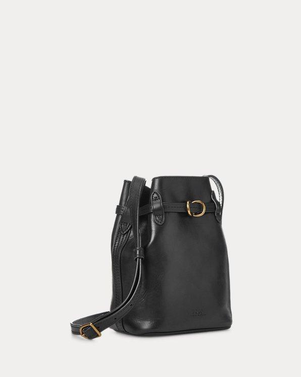 Leather Mini Bellport Bucket Bag