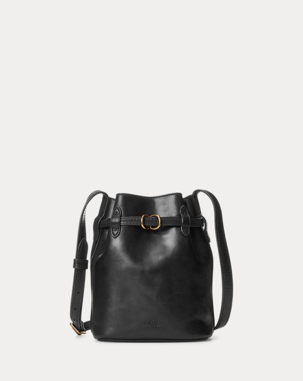 Leather Mini Bellport Bucket Bag