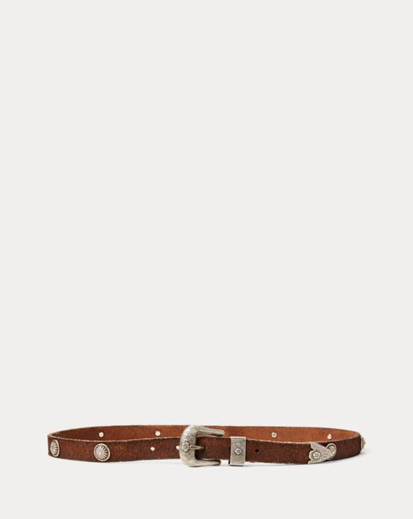 Cintura western in vitello
