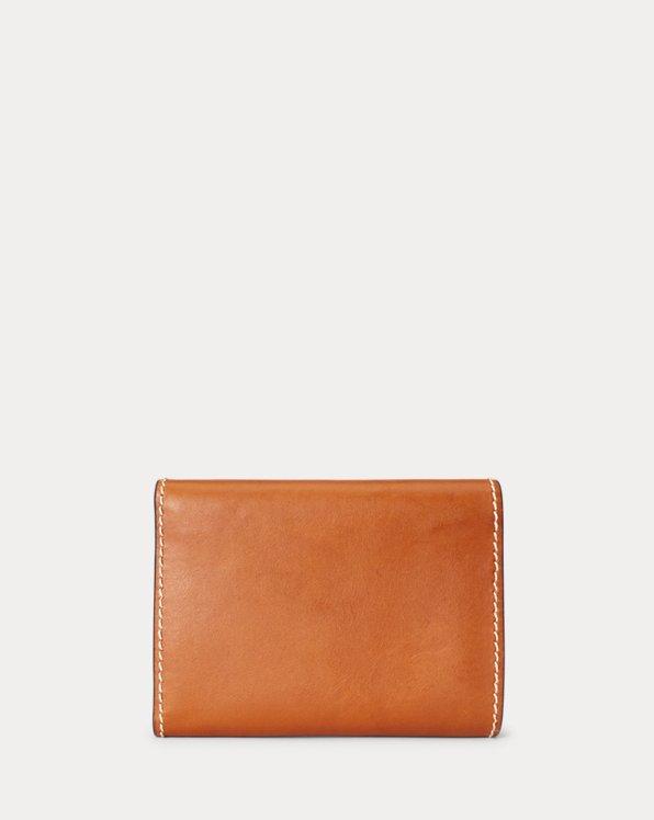 Vachetta Leather Compact Wallet